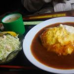 ひなた - オムハヤシライス、800円