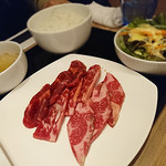 yakinikuheijouen - オーロラ牛三種盛セット