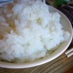 実家カフェ山田 - 白飯