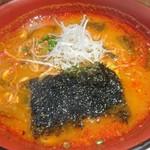 神楽坂 翔山亭 - 赤温麺