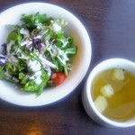 Tokyo Rice Wine - サラダとスープ