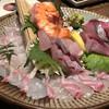 旨い肴・博多もつ鍋 「笑や」 - 料理写真:刺盛