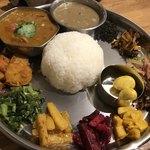アジアン キッチン カフェ ももふく - ダルバートスペシャル仕様