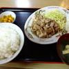 自由軒 - 料理写真:生姜焼き定食