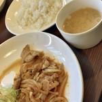 レストラン カマヘイ - Aランチ 450円