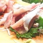 かわなみ鮨 - 鰯刺身