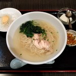 紅燈籠 - 料理写真:ランチセット・とりがらスープ麺 514円