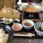 絶景レストラン うずの丘 - 海鮮うにしゃぶ〜(・∀.・)/¥3800円