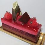 パティスリー ルポンデザミ - 料理写真:・「フランボワジェ(\486)」