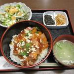 日本酒 和食屋喜男 - 海鮮ちらし丼 980円