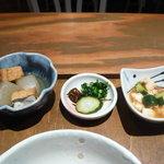 Come Come - 小鉢2種&お漬物