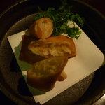 椀々 - 蟹クリーム春巻き