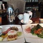 カスケイドカフェ - 朝食