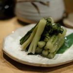 白金 酉玉 - 野沢菜