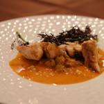 RISTORANTE STELLA - 本日の鮮魚・ンドゥイヤのカラブリア風 選んだお魚は、ホウボウ