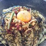 コムシロン カフェ - 料理写真:さくら納豆の冷製パスタ