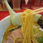 ラーメン山岡家 - 特製味噌ラーメン、いつもの太麺