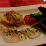 ビストロそれいゆ - 真鯛と平目、三河地鶏パテ
