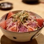 味彩山久 - 鴨サラダ