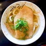 セルフうどんやま - 料理写真:かけ+お揚げ