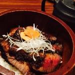 美食米門 - 黒毛和牛とフォアグラのひつまぶし(3,800円)