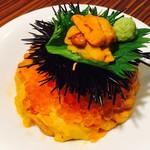 美食米門 - うにといくらの合わせ飯(5,800円)