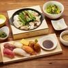 温野菜GOZEN - 料理写真:にぎり寿司三昧と選べる鍋御膳 1280円(税抜)~