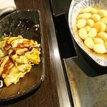 ぽんぽこ本゜舗 - とんぺい焼きと大蒜