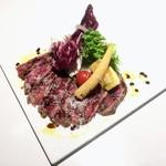 MAMMA PARMA  - 牛肉の炙りカルパッチョ