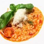 MAMMA PARMA  - トマトとパルミジャーノのリゾット