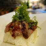 78148423 - 宮崎牛サーロインのステーキ丼
