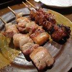 天神信長 - 豚バラ126円と味噌さがり189円