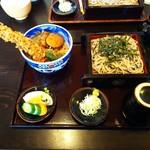 島彦本店 - 料理写真:天丼セット ¥1400