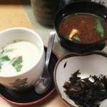 78151842 - ランチは赤だし・茶碗蒸し・小鉢付き