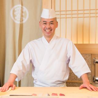 齋藤孝司氏(サイトウタカシ)―鮨の美しさをも追求する鮨職人