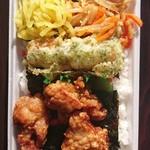 こがねちゃん弁当 - 料理写真:のりから明太子弁当