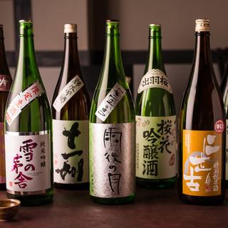 日本酒&お酒と相性◎のおつまみ充実