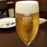 チェント アンニ ギンザ - 生ビール