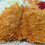 好養軒 - 好養軒 @御徒町 サクサク衣の魚フライは鯵フライ