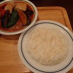 木多郎 - スープカレー(ポーク)