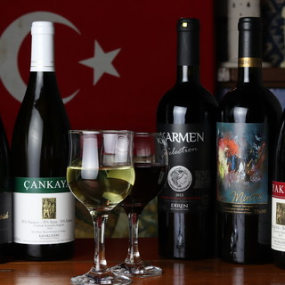 ◇厳選◇トルコ料理に合う!トルコワインが充実○