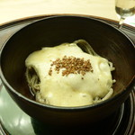 懐石料理 桝田 - 山かけ蕎麦