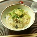 懐石料理 桝田 - 牡蠣土手鍋