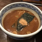 三田製麺所 - つけ汁は結構、濃厚
