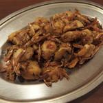 78159978 - 里芋と小魚の炒め物
