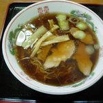三幸食堂 - 醤油ラーメン 550円
