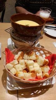 ハーレーパーク - チーズフォンデュ