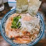 味山河 - 料理写真:煮干し豚骨