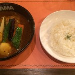 SAMA - チキン野菜カレー1300円税込