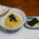 割烹 かどや - 鮟鱇(あんこう)鍋コース 雑炊